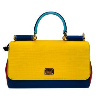 Dolce & Gabbana Tricolour Sicily Bag
