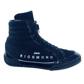 John Richmond high top sneakers