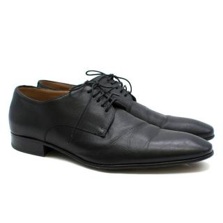 Boss Hugo Boss black derby shoes