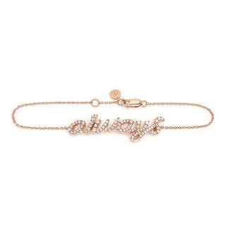 Pia Hallstrom 'Always' 0.61ct Diamond Rose-Gold Bracelet
