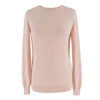 Joseph Pink Wool and Cashmere Jumper