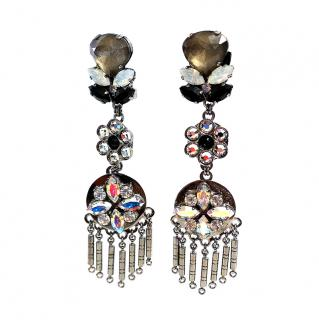 Vicki Sarge Crystal Statement Earrings