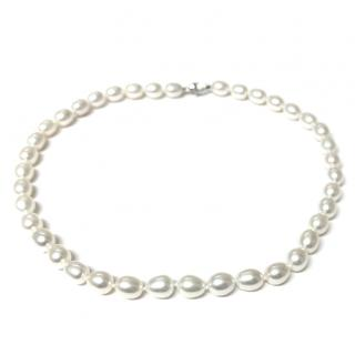 Freshwater Pearl Necklace White Lustre 9ct Gold