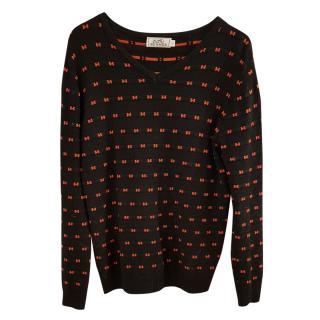 Hermes Wool H Knit Sweater