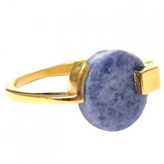 Marion Vidal Lapis Lazuli Statement Ring