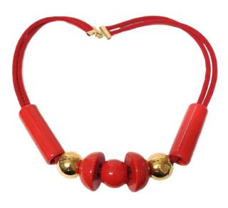 Marion Vidal Ceramic Statement Necklace