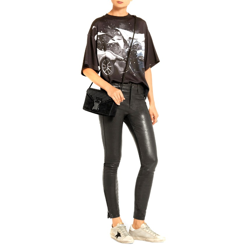 J Brand L8001 mid-rise super-skinny leather trousers - New Season