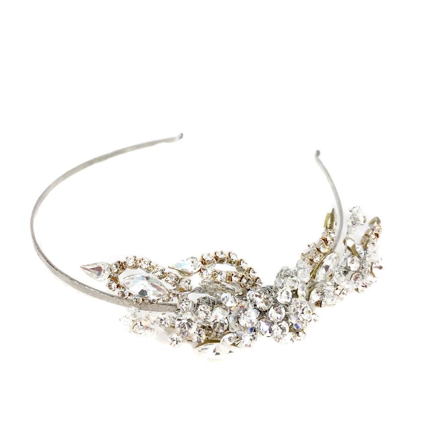 Couture Swarovski Crystal Head Band