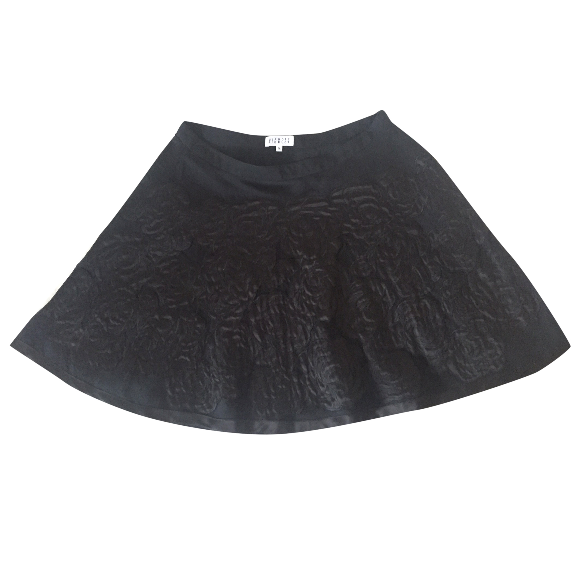Claudie Pierlot Black Mini Skirt