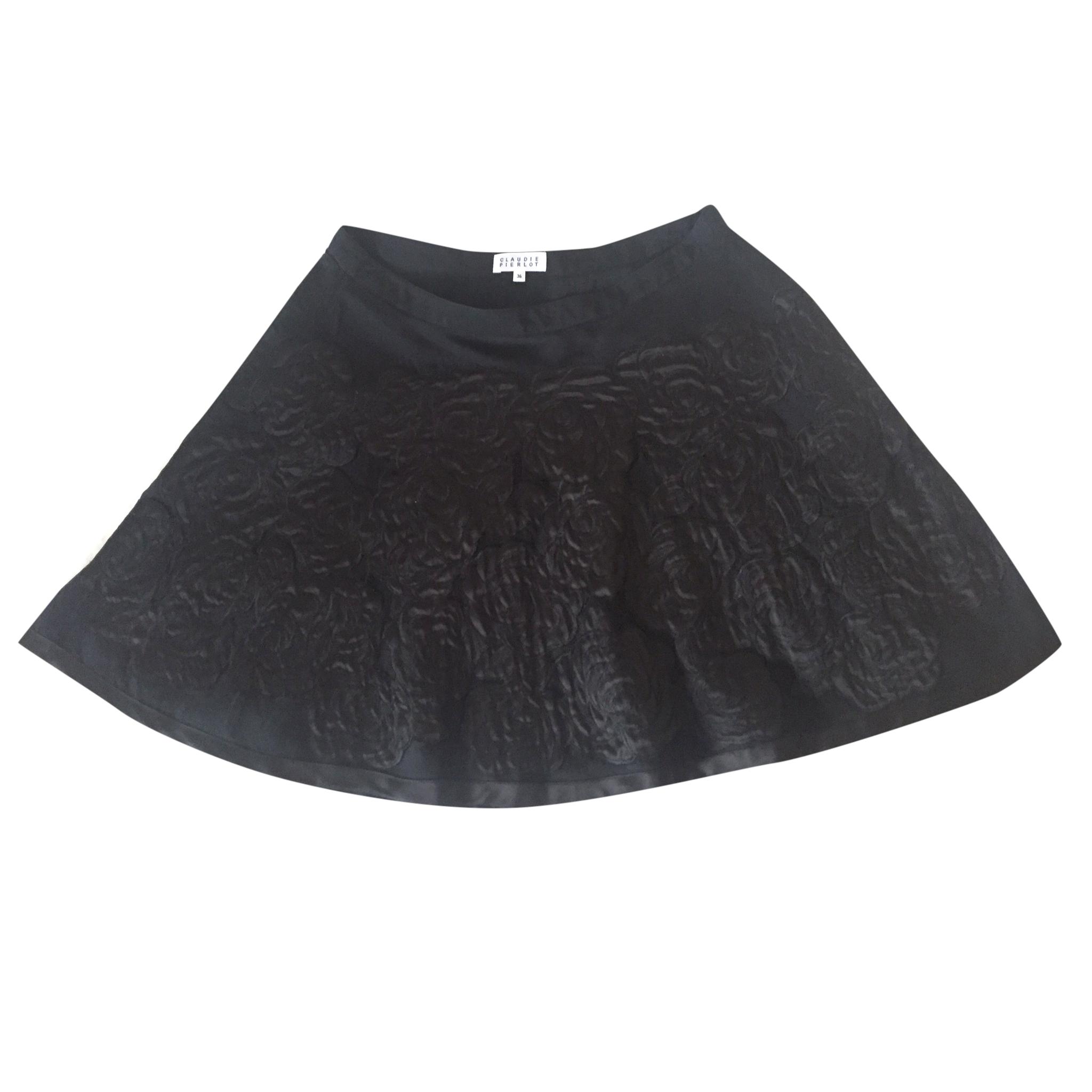 Claudie Pierlot Black Mini Skirt