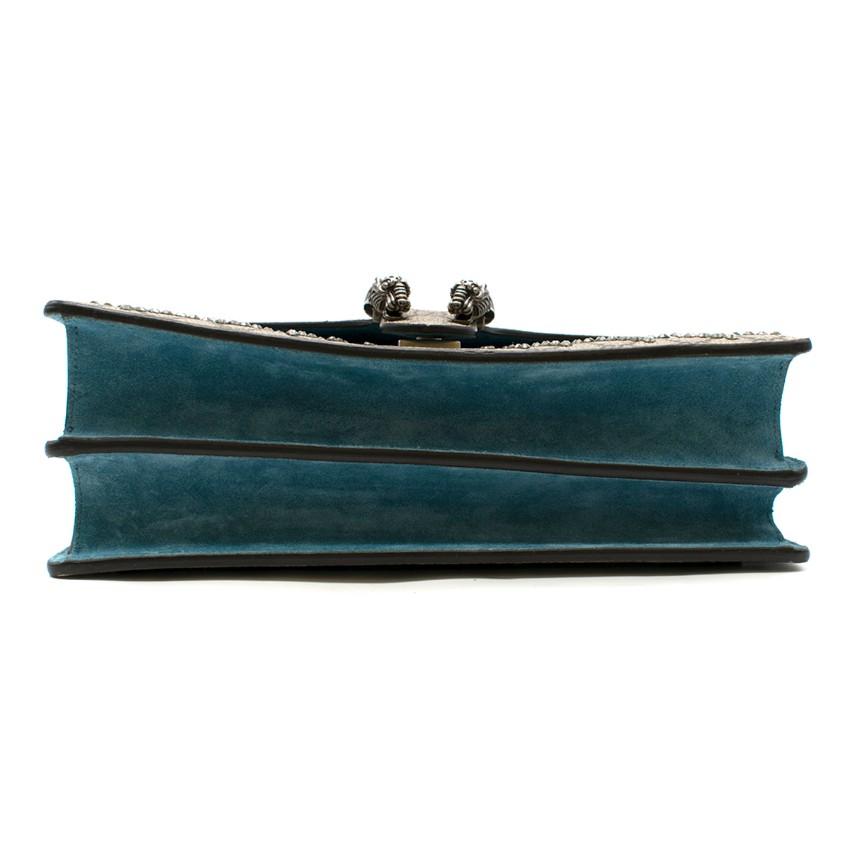 395fab53f3c8 Gucci Dionysus supreme medium tiger head embroidered shoulder bag. 28.  12345678910