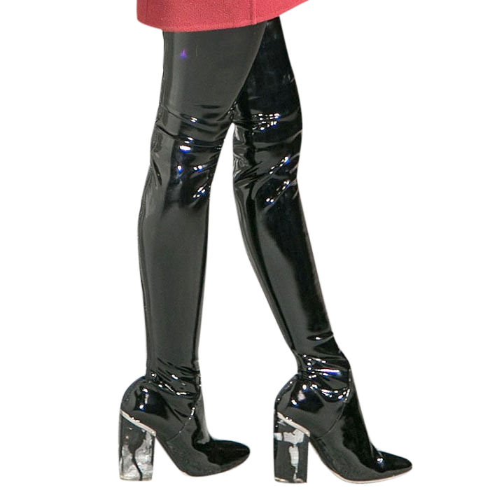 Dior Thigh High Boots   HEWI