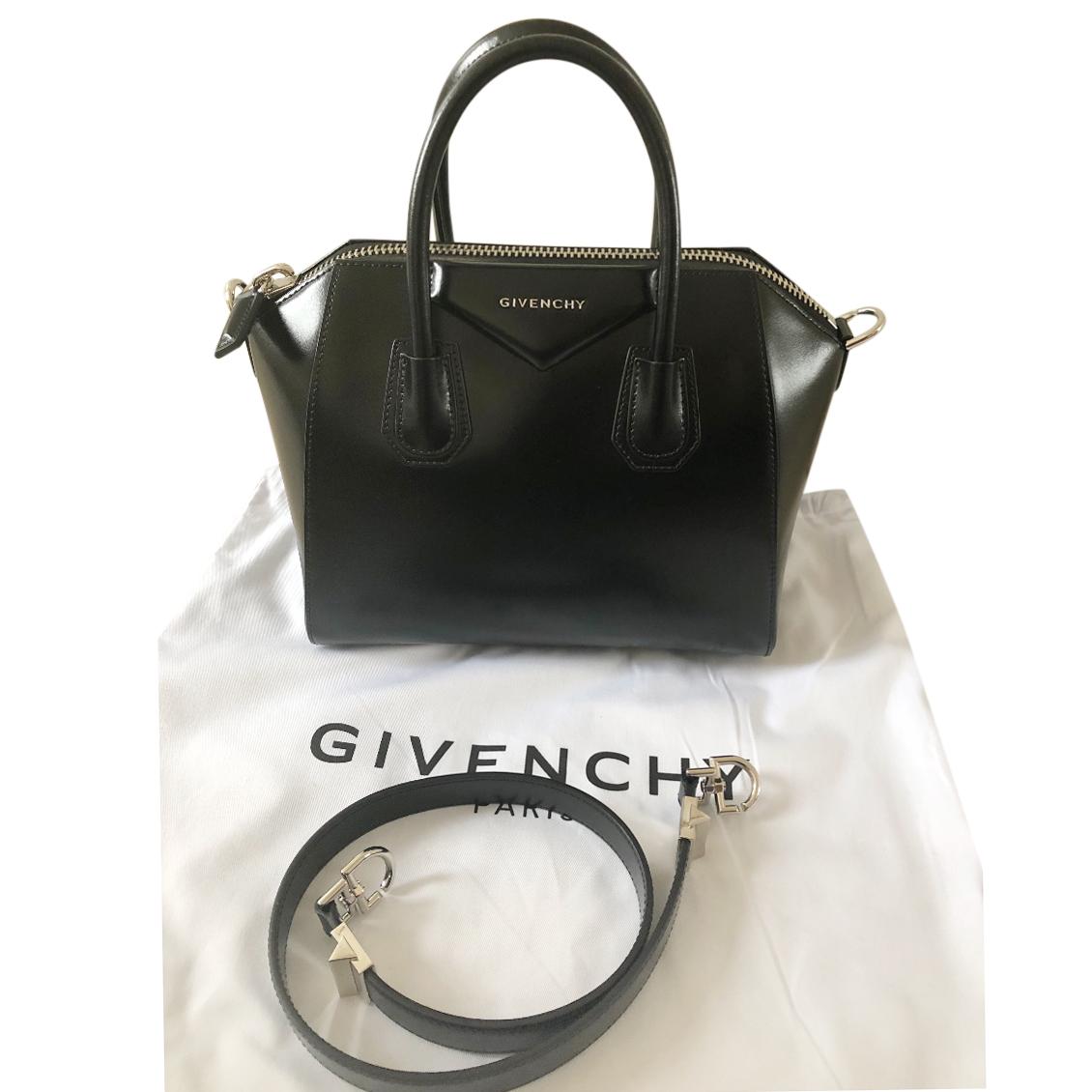 988e8584ff Givenchy Small Black Smooth Leather Antigona Bag   HEWI London