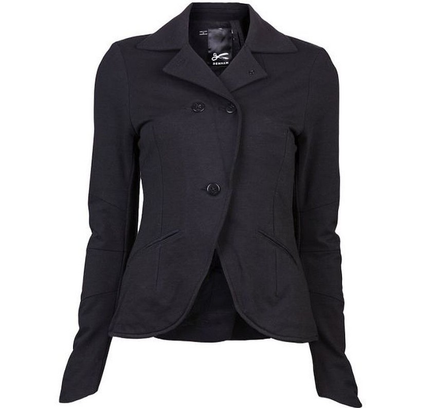 DENHAM Bega Black Stretch Jacket