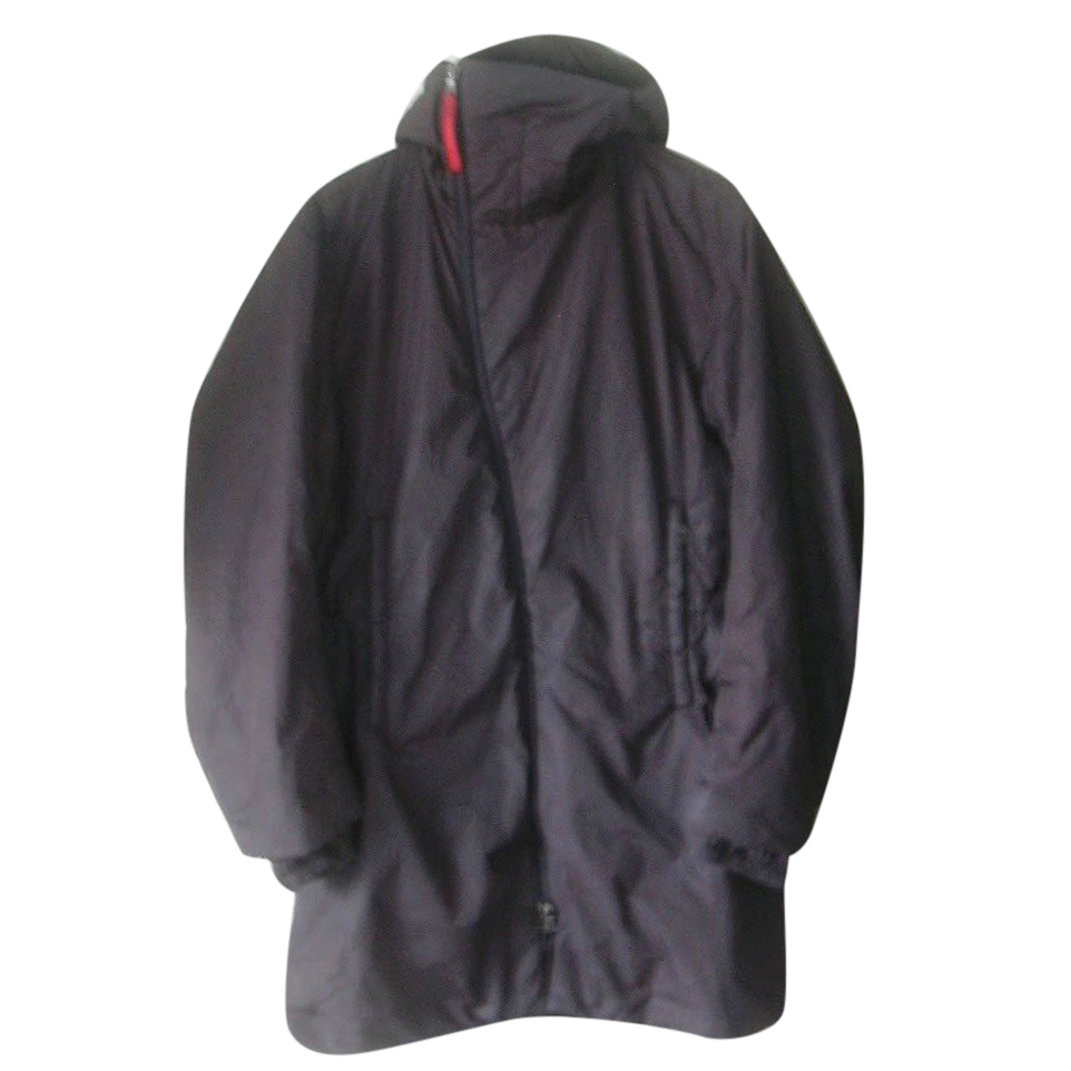 Prada Men's Nylon Hooded Coat