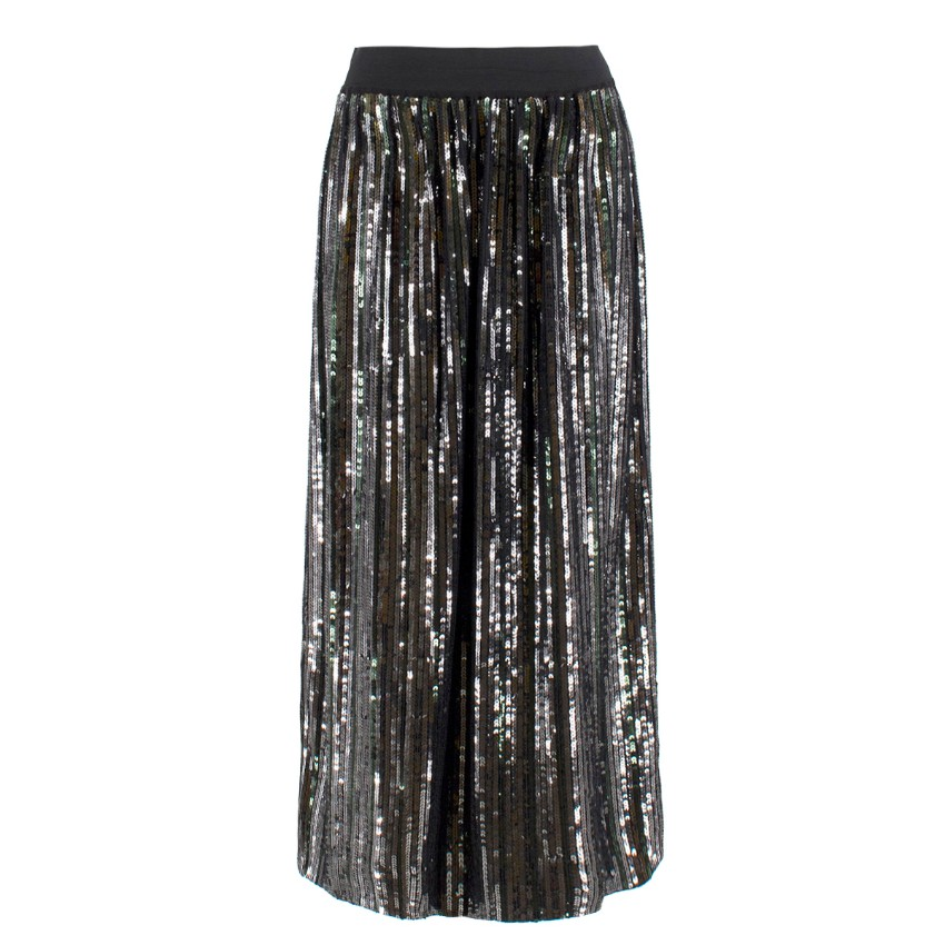 Bellerose sequin-embellished midi skirt