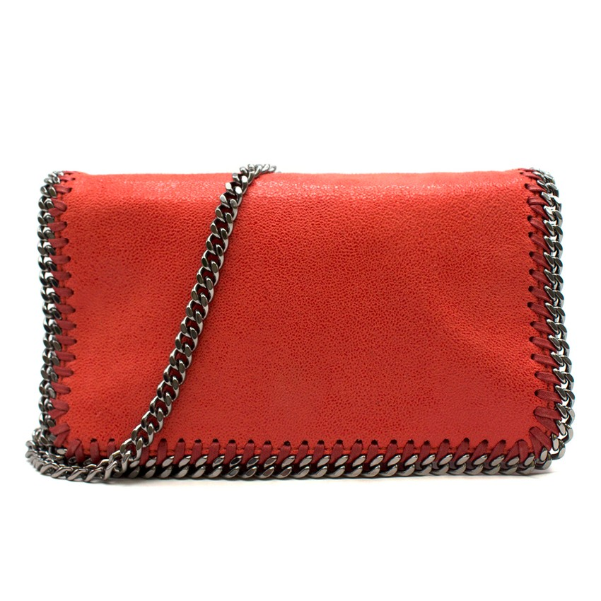 Stella McCartney Red Mini Falabella Bag
