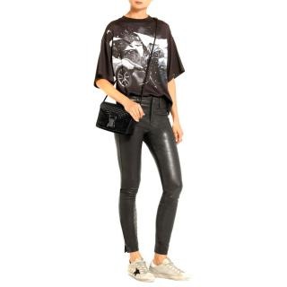 J Brand L8001 mid-rise super-skinny leather trousers - New Season
