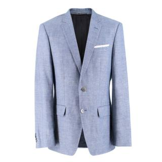 Boss Hugo Boss wool and linen-blend blazer