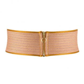Missoni zip-front waist belt