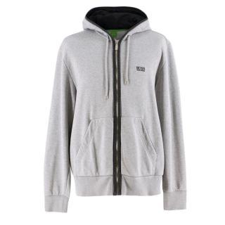 Boss Hugo Boss zip-through hooded sweatshirt