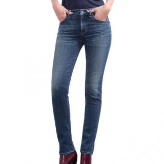 Citizens of Humanity midrise slim straight jeans