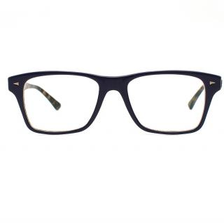 Ray-Ban wayfarer-frame glasses