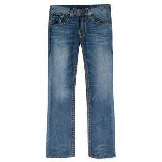True Religion Blue Straight Jeans