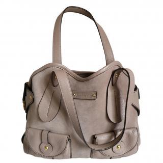 Salvatore Ferragamo Suede Handbag