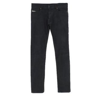 Diesel Tepphar Slim Carrot Black Jeans