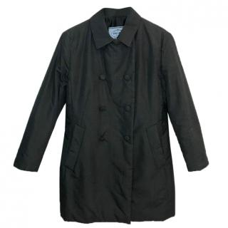 Prada Silk Grey Coat.