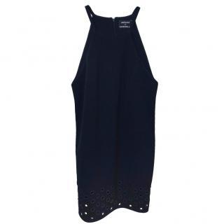 Anthony Vaccarello Eyelet-Detailed Mini Dress.
