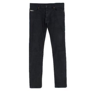Diesel Black Slim Tepphar Jeans