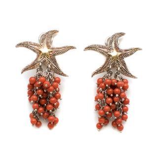 Bespoke Starfish Stud Earrings