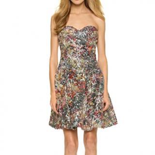 Marchesa Notte sequin dress, UK 10