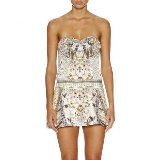 Camilla Handiras Hold Strapless Dress