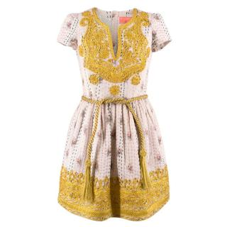 Manoush embroidered A-line dress