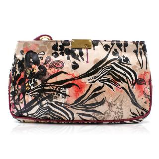 Jimmy Choo animal & floral print clutch