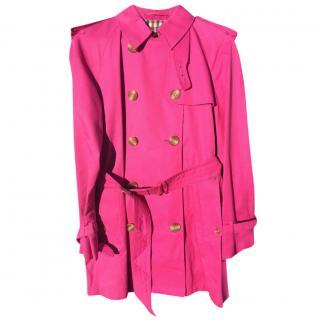 Aquascutum short trench coat