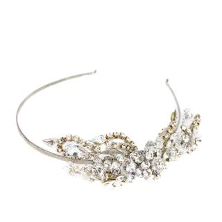 Couture Swarovski Crystal Head Band