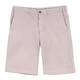 Canali Beige Shorts