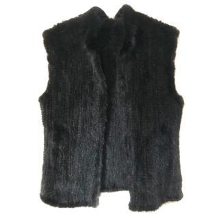 Caroline Furs Beaver fur vest