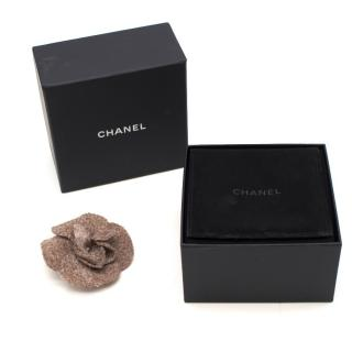 Chanel Camilla wool brooch