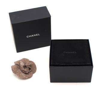 Chanel Camilla wool brooch
