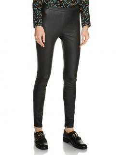 Maje Stretch-Leather Leggings