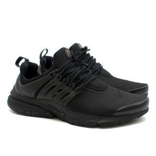 Nike Air Presto Essential Triple Black low-top trainers