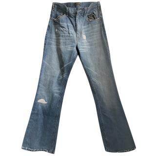 Golden goose deluxe brand distressed jeans