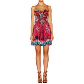 Camilla silk beach dress