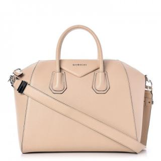 Givenchy sugar goatskin medium antigona tote bag