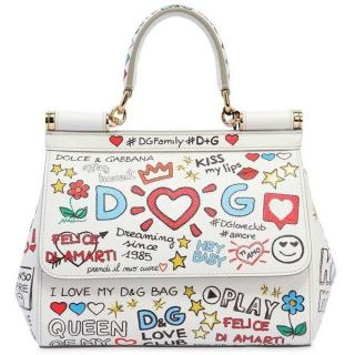 Dolce & Gabbana Graffiti Sicily Bag